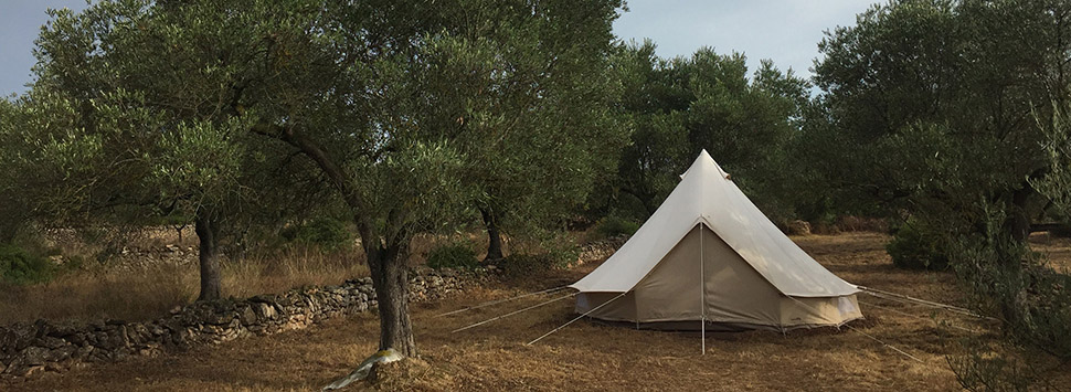 Finca Feliz - Tent for visitors